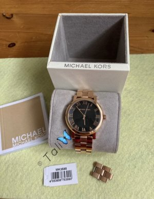Michael Kors Analog Watch rose-gold-coloured-black