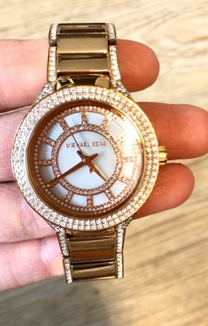 Michael Kors Montre analogue or rose