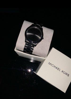 Michael Kors Montre avec bracelet métallique noir