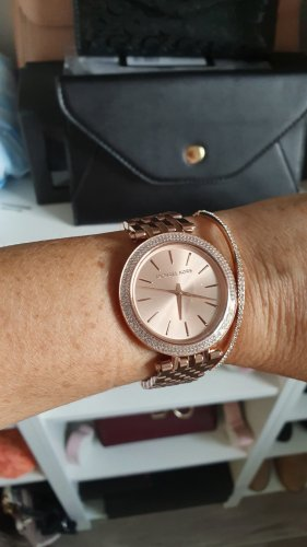 Michael Kors Montre analogue or rose-doré