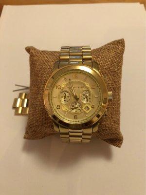 Michael Kors Montre avec bracelet métallique doré bronze