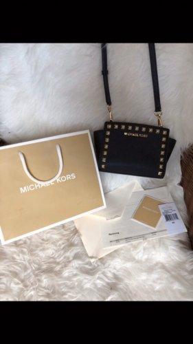 Michael Kors Mini sac noir-doré