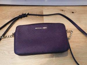 Michael Kors Bandolera rojo zarzamora-violeta oscuro