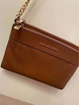 Michael Kors Crossbody bag cognac-coloured leather