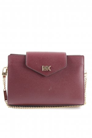 "Michael Kors Borsa a spalla ""MD Convertible Xbody Clutch Oxblood"" bordeaux"