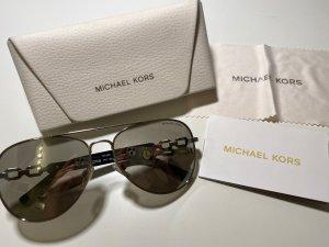 Michael Kors Pilotenbril zilver-grijs