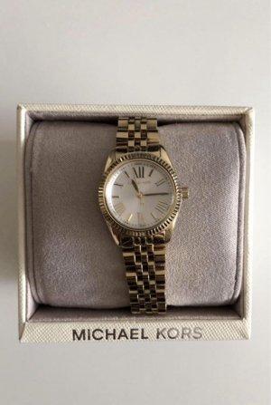 Michael Kors Zegarek z metalowym paskiem złoto