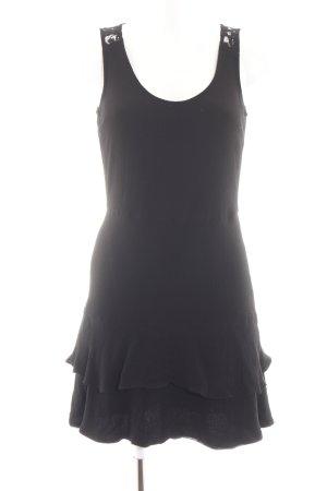 Michael Kors Volantkleid schwarz Elegant