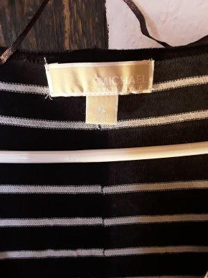 Michael Kors Koszulka z dekoltem woda biały-ciemnoniebieski