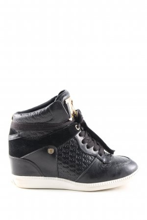 "Michael Kors Wedge Sneaker ""Nikko High Top"" schwarz"