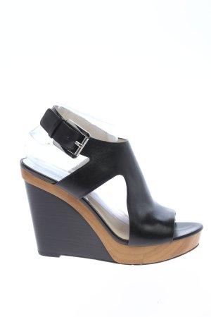 Michael Kors Wedge Sandals black casual look