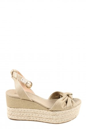 Michael Kors Wedges Sandaletten wollweiß Casual-Look