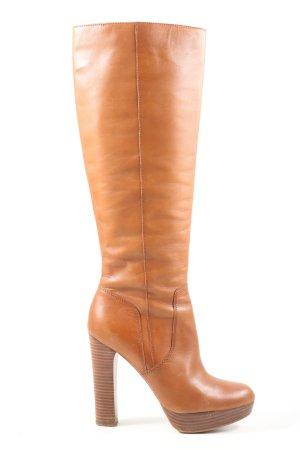 Michael Kors Wide Calf Boots light orange casual look