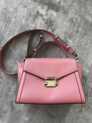 Michael Kors Whitney, Handtasche, Umhängetasche, Crossbody Bag, Ledertasche, Altrosa