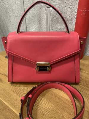 Michael Kors Whitney MD TH Satchel Bag Rose Pink