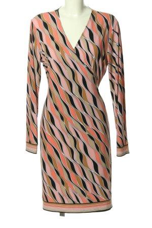 Michael Kors Kopertowa sukienka Abstrakcyjny wzór W stylu casual