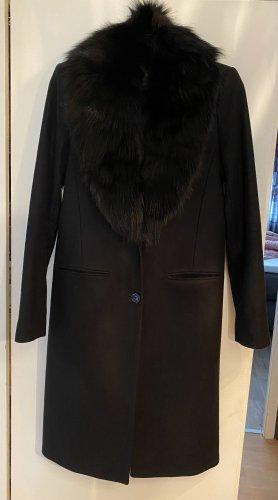 Michael Kors Abrigo de lana negro