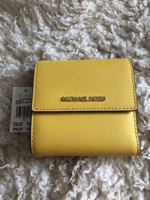 Michael Kors Women's Small Leder Card Case Geldbörse
