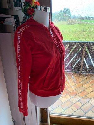 Michael Kors Giacca fitness rosso-bianco