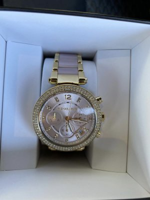 Michael Kors Reloj analógico rosa-color oro