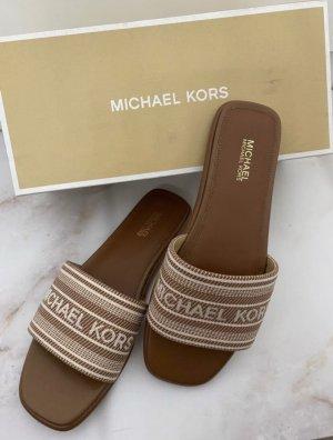 Michael Kors Sabots rose-gold-coloured-light brown