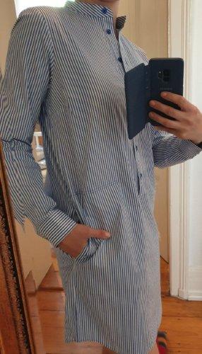 Michael Kors Shirtwaist dress cornflower blue-white