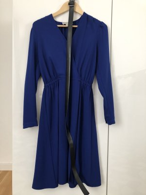 Michael Michael Kors Kleid | M | Langarm | elegantes blau | mit Guertel