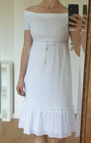 MICHAEL MICHAEL KORS  Kleid XS 34 Neu weiß Sommerkleid Sommer Strand Strandkleid