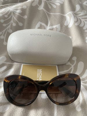 Michael Kors Gafas de sol redondas coñac-marrón