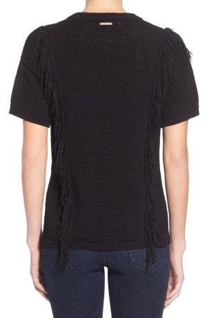 Michael Kors Sweter z krótkim rękawem czarny