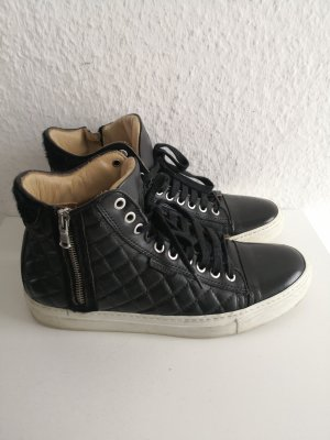 Michalsky High Top Sneaker black leather