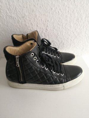 Michalsky Berlin Leder Sneaker III High Black Quilted NP 329€