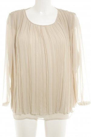 Michalsky Long Sleeve Blouse cream classic style