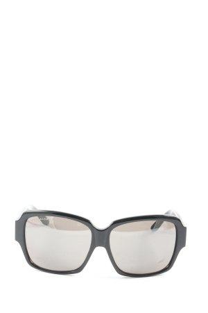 Michalsky Owalne okulary przeciwsłoneczne czarny W stylu casual