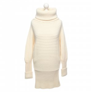 Michalsky Coarse Knitted Sweater natural white-cream wool