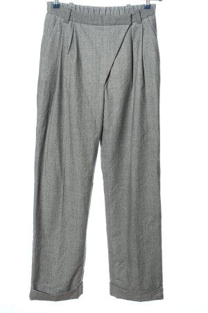 Michalsky Jersey Pants light grey weave pattern business style