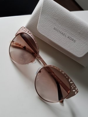 Michael Kors Hoekige zonnebril roségoud
