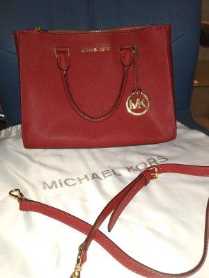 Michel Kors Handtasche in rot