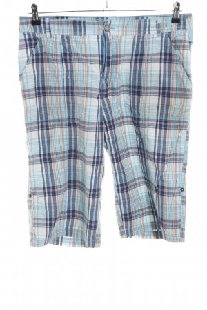 Michele Boyard 3/4 Length Trousers check pattern casual look