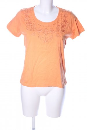 Michele Boyard T-Shirt hellorange Casual-Look