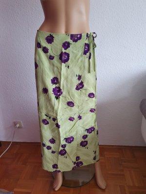 Michele Boyard Kopertowa spódnica ciemny fiolet-miętowy
