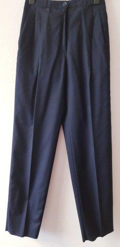 Michele Boyard Pantalone di lana blu scuro
