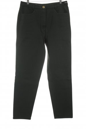 Michèle Hoge taille jeans bos Groen casual uitstraling