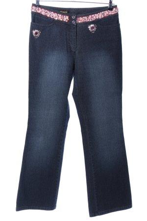 Michèle Straight-Leg Jeans blau-pink Casual-Look
