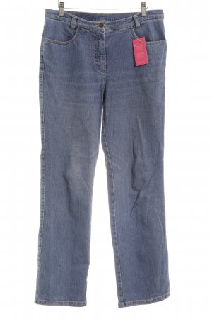 Michèle Straight-Leg Jeans blau College-Look