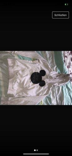H&M Capuchon sweater lichtroze
