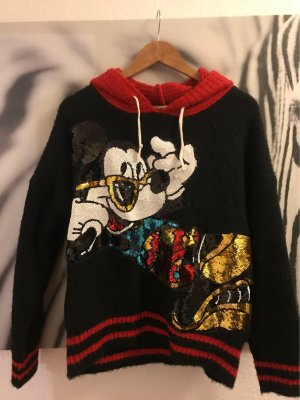 Capuchon sweater veelkleurig Katoen