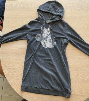Disney Hooded Dress anthracite