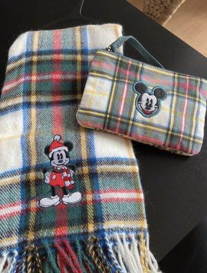 Disney Écharpe à franges multicolore