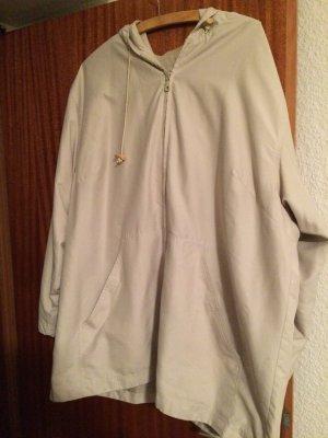 Microfaser Jacke mit Kapuze Gr. 48 v. Casual Wear wenig getragen